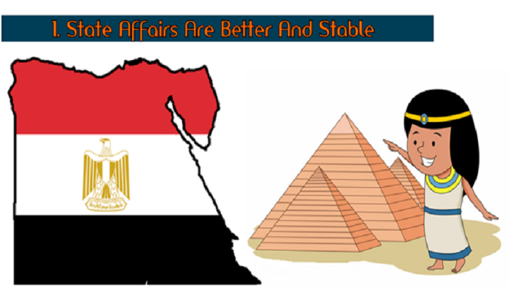 State Affairs Are Better And Stable
