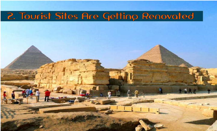 Tourist Sites Are Getting Renovated